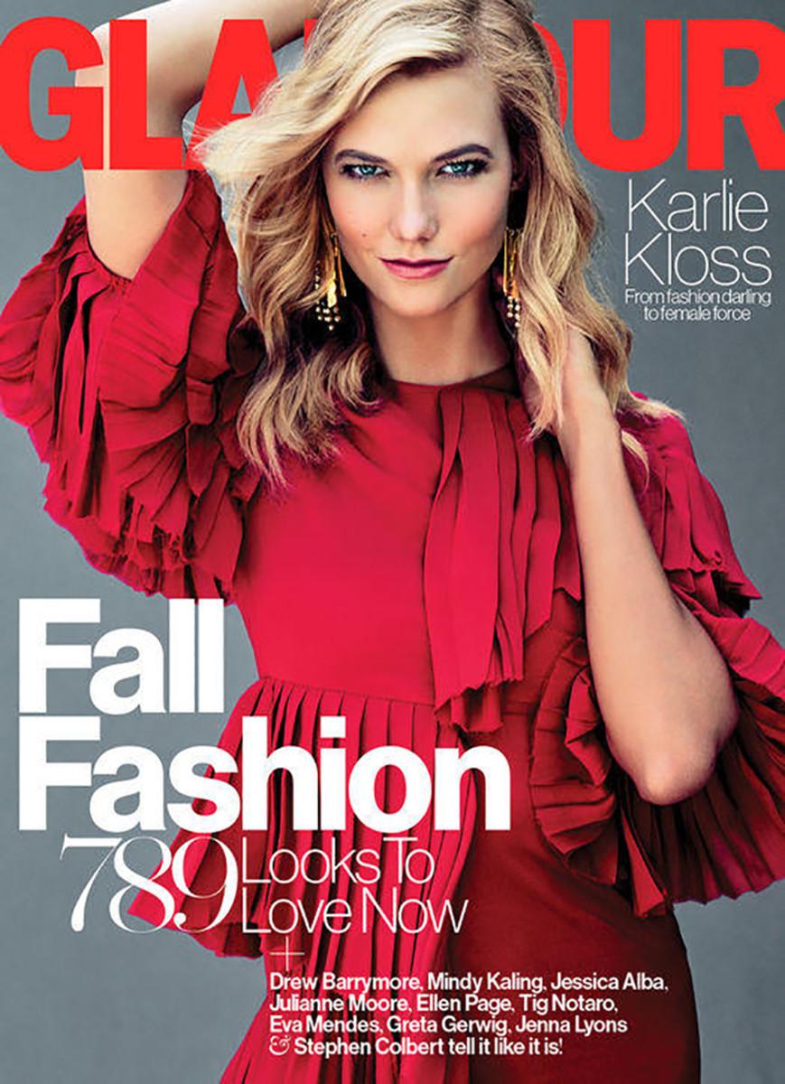 Karlie Kloss on 'Glamour.' Photo: Tom Munro/Glamour