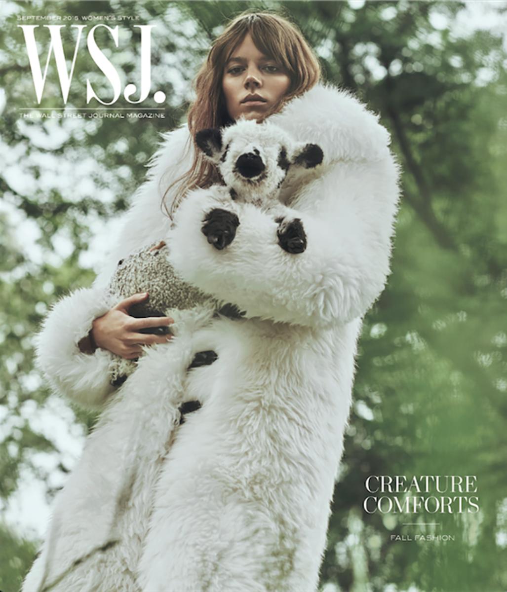 Freja Beha Erichsen on 'WSJ. Magazine.' Photo: Lachlan Bailey/WSJ