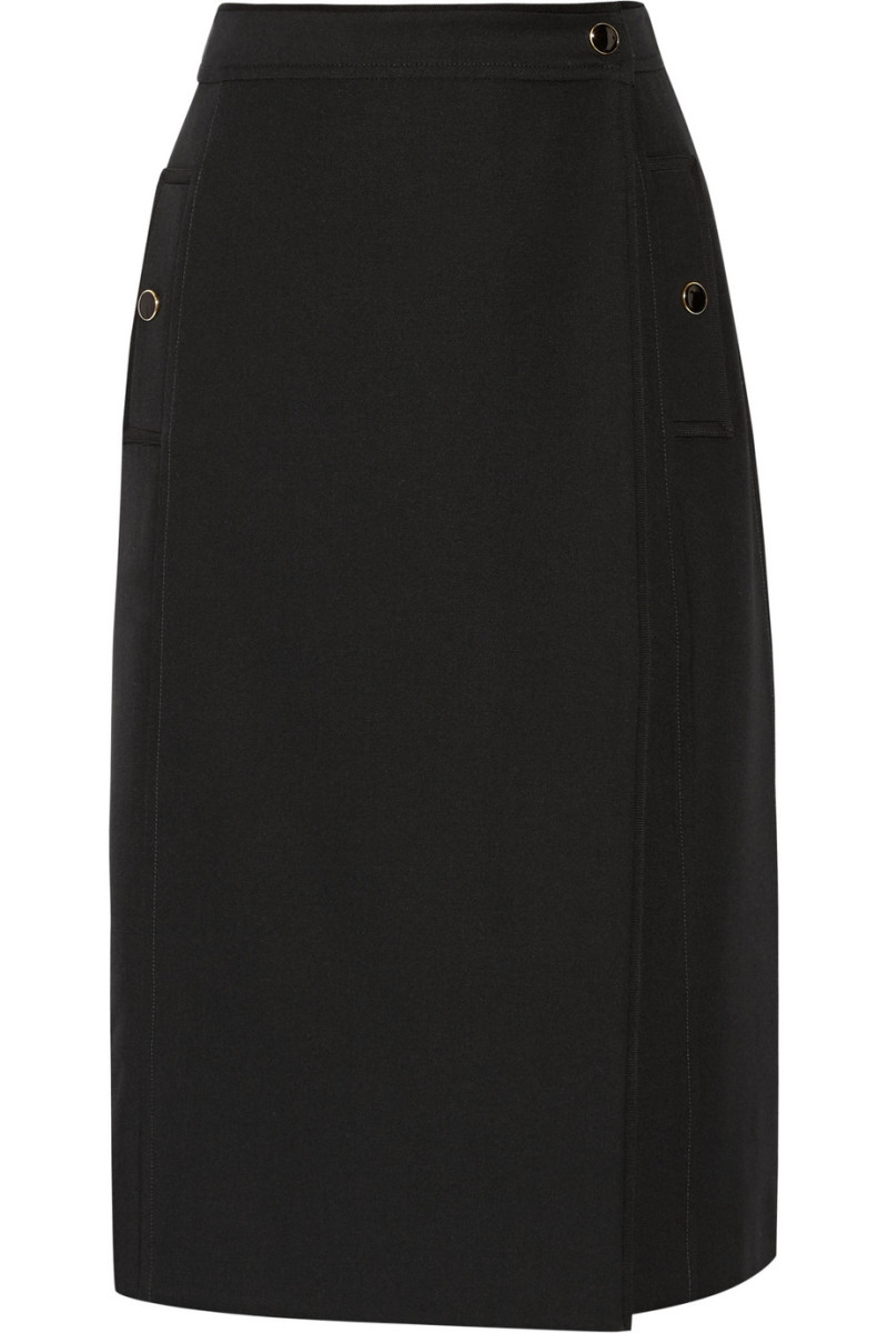 "Vanessa Seward ""Abondance"" wool skirt, $530, available at Net-a-Porter."