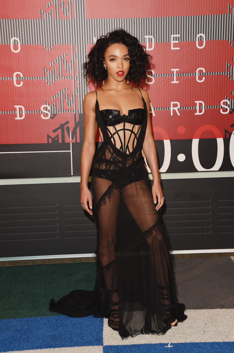 FKA Twigs in Atelier Versace. Photo: Versace