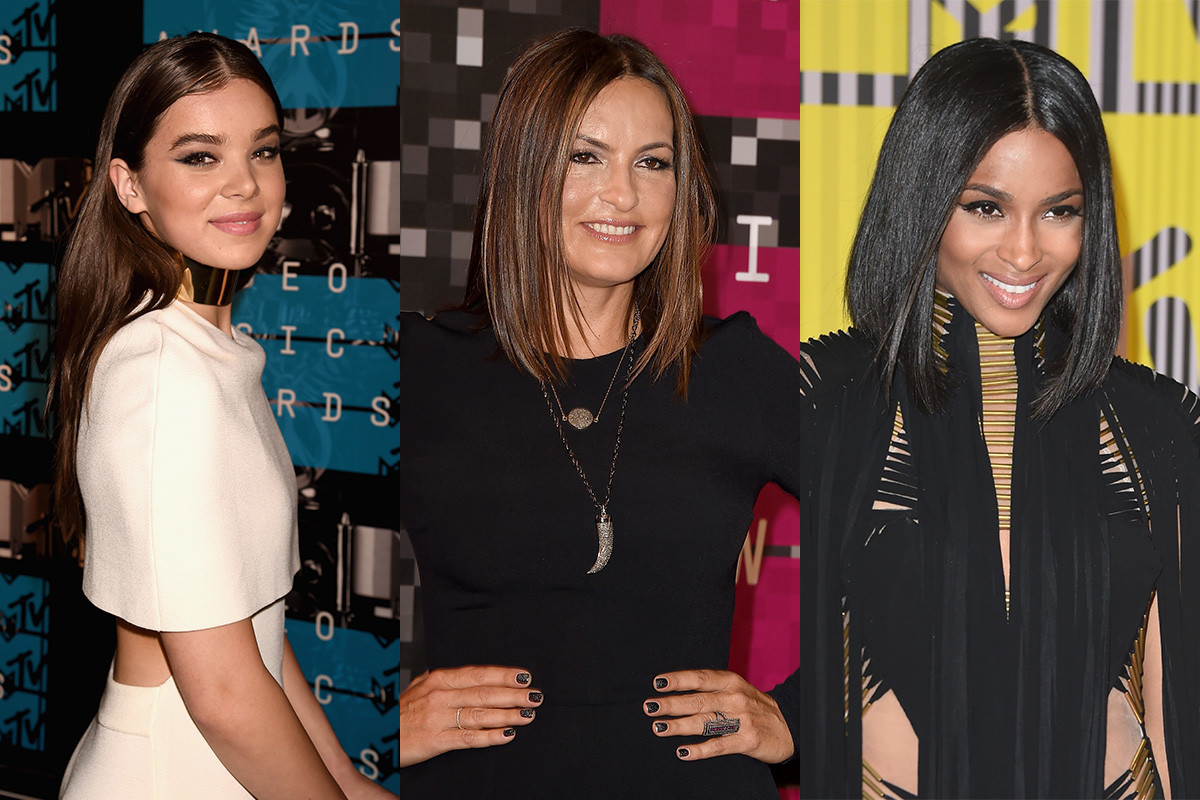 Hailee Steinfeld, Mariska Hargitay, Ciara. Photos: Jeff Kravitz/Steve Granitz/Mark Ralston Getty Images