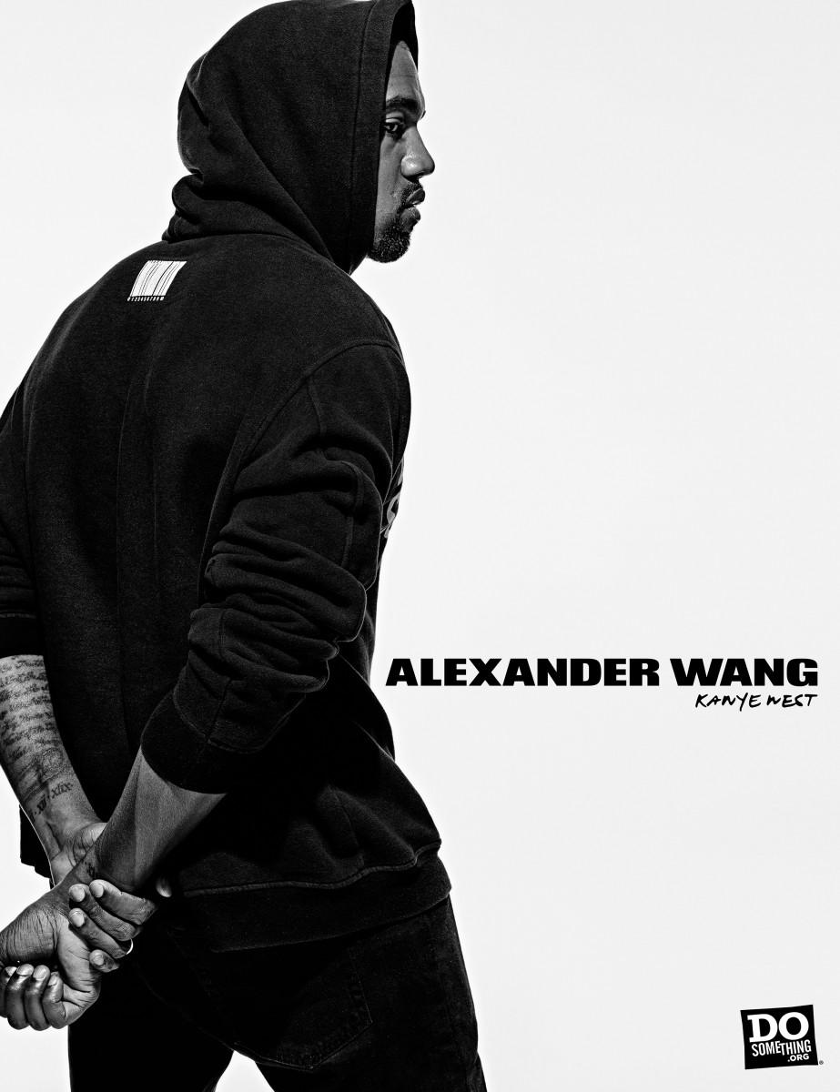Kanye West for Alexander Wang x DoSomething. Photo: Steven Klein