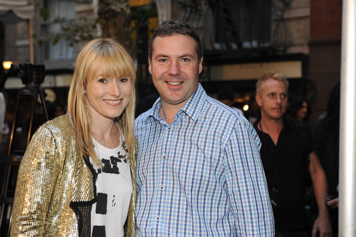 Teen Vogue's Amy Astley with Nick Robertson at Fashion's Night Out in 2010. Photo: Arun Nevader/Getty Images for Teen Vogue