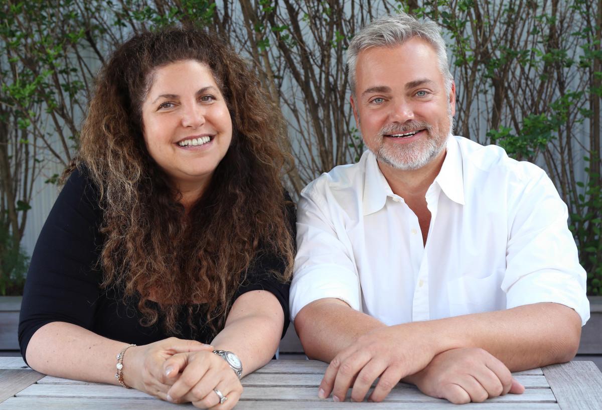 Jeni Rose and David Cunningham. Photo: IMG