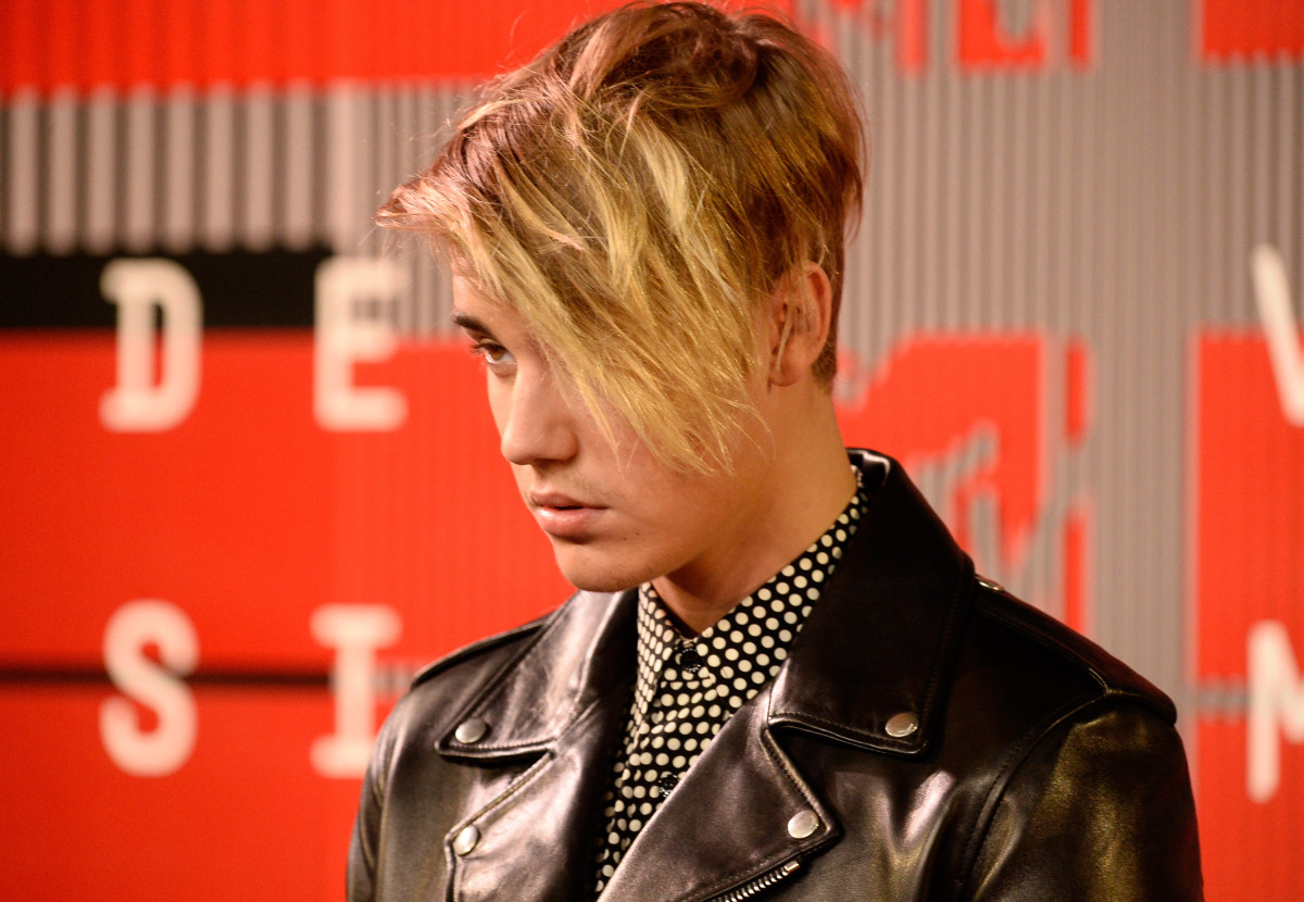 Justin Bieber rocking a directional new look. Photo: Frazer Harrison/Getty Images