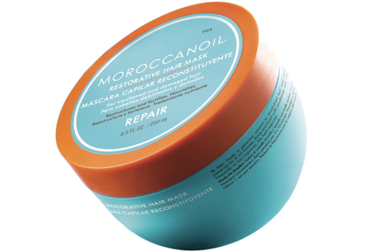 Moroccanoil Restorative Hair Mask, $46-75., available at Moroccanoil.com.