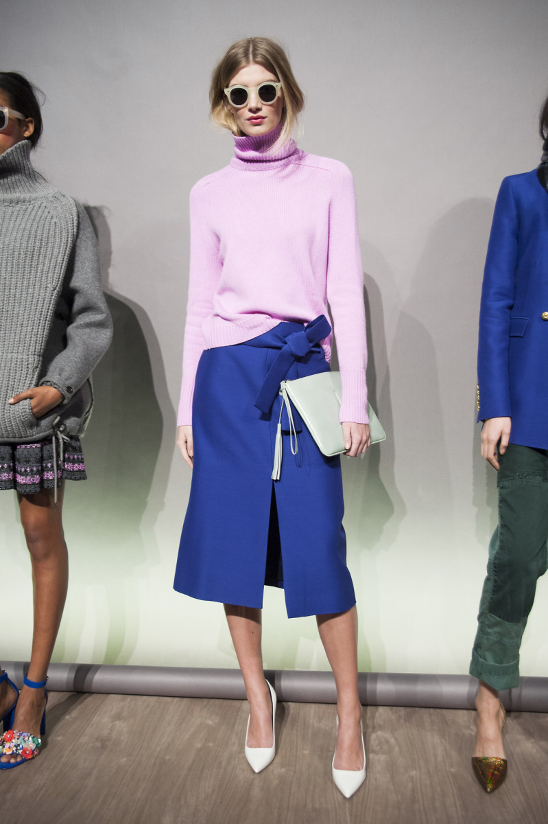 A look from the J.Crew fall 2015 collection. Photo: Imaxtree