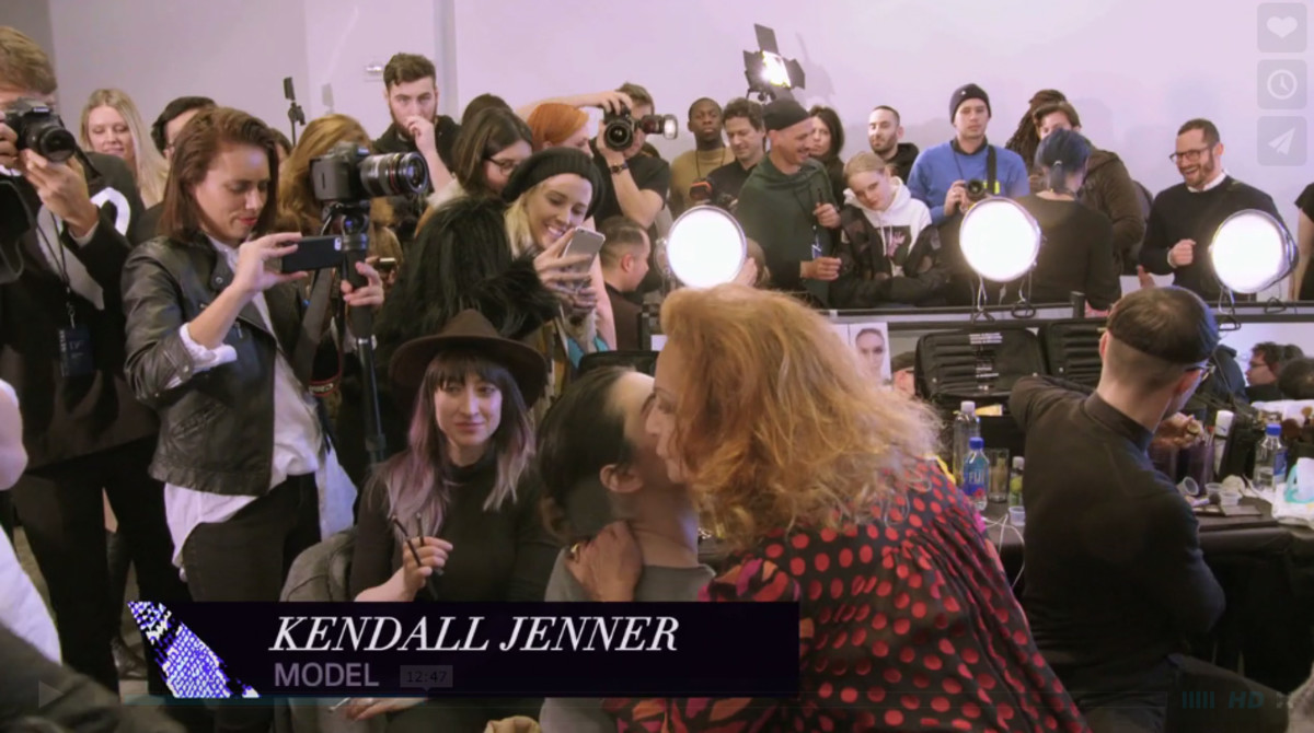 I counted four Kendall Jenner appearances. Screengrab: House of DVF