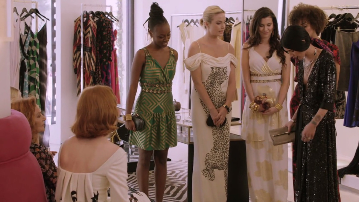 Hanna Beth clearly knows her Rachel Zoe. Screengrab: House of DVF