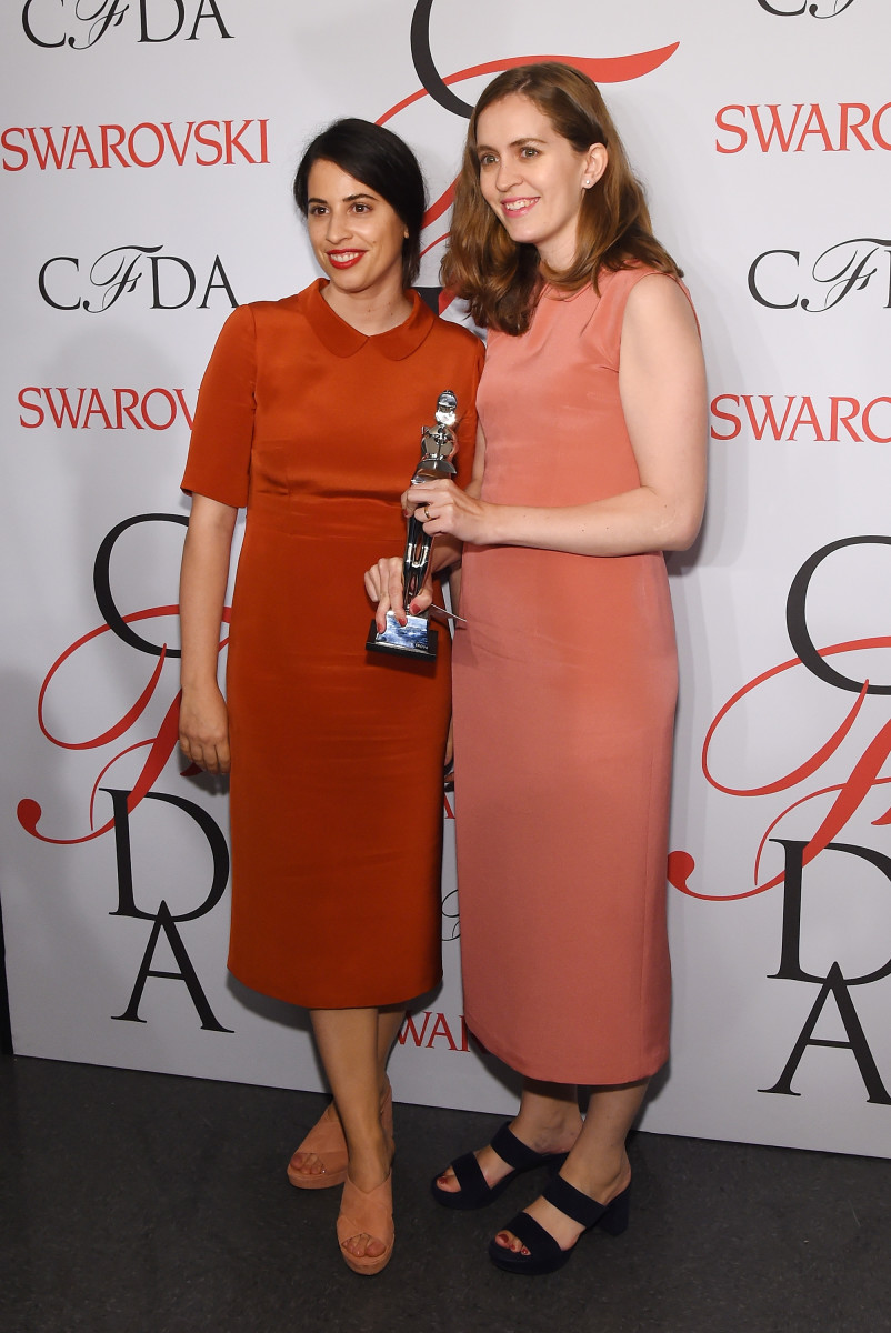 Floriana Gavriel and Rachel Mansur at the CFDA Awards in June. Photo: Larry Busacca/Getty Images