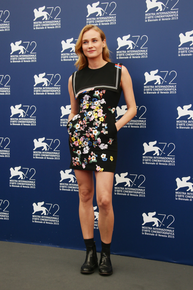 Diane Kruger at the Venezia 72 Jury Photocall. Photo: Vittorio Zunino Celotto/Getty Images