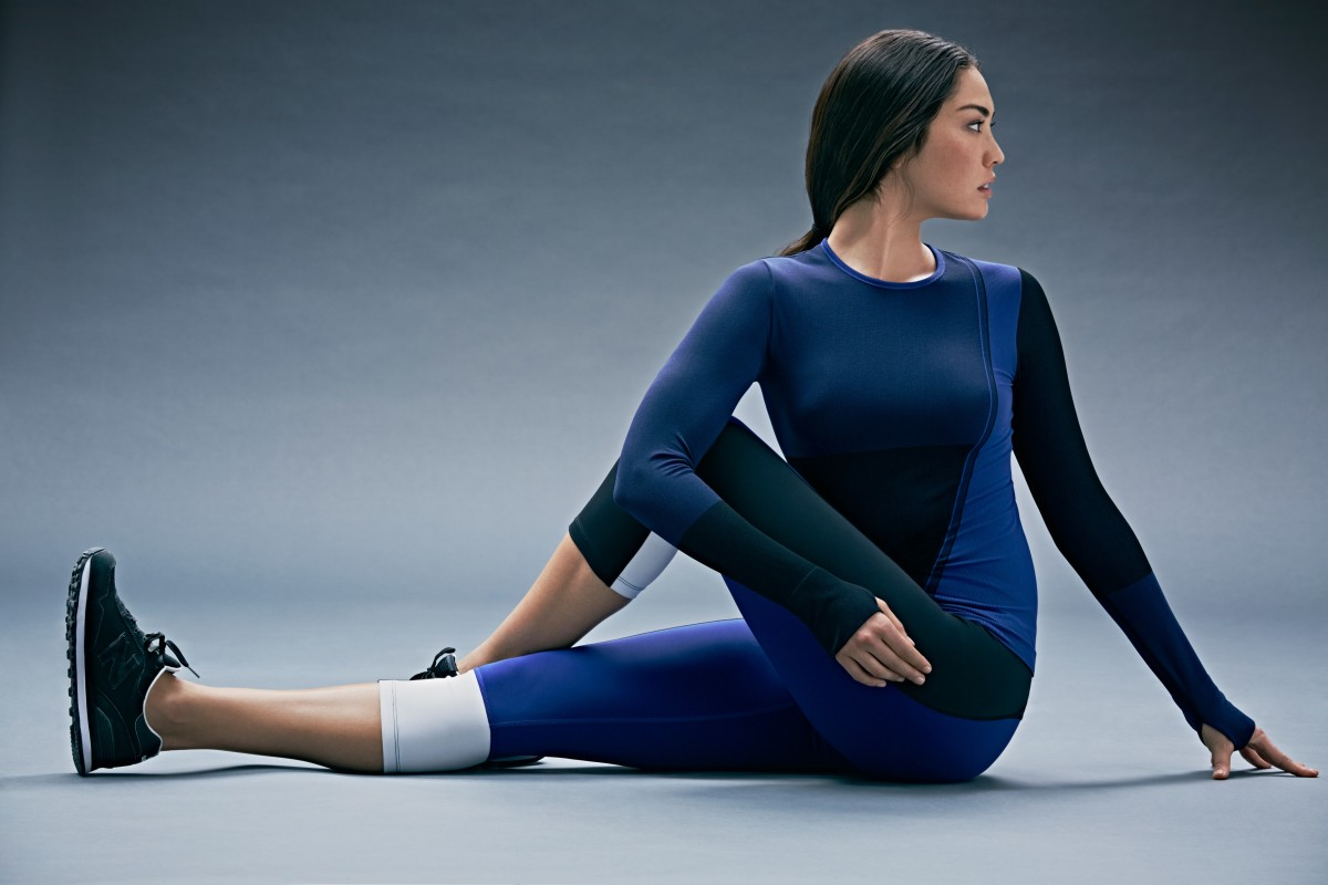 A look from the Athleta x Derek Lam capsule collection. Photo: Athleta