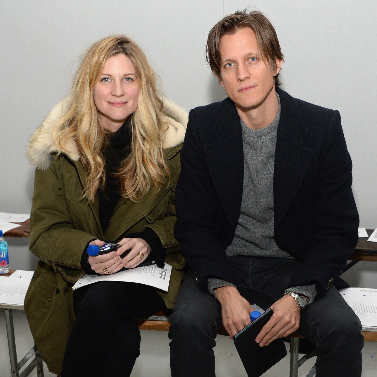 Kristina O'Neill and Magnus Berger in 2015.  Photo: Ben Gabbe/Getty Images
