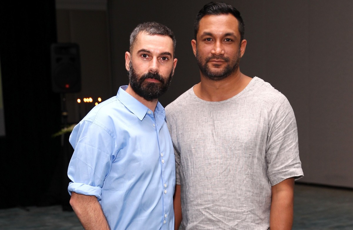 Tome designers Ramon Martin and Ryan Lobo in 2014. Photo: Astrid Stawiarz/Getty Images