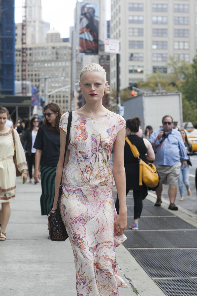 Hanne Gaby Odiele. Photo: Emily Malan/Fashionista