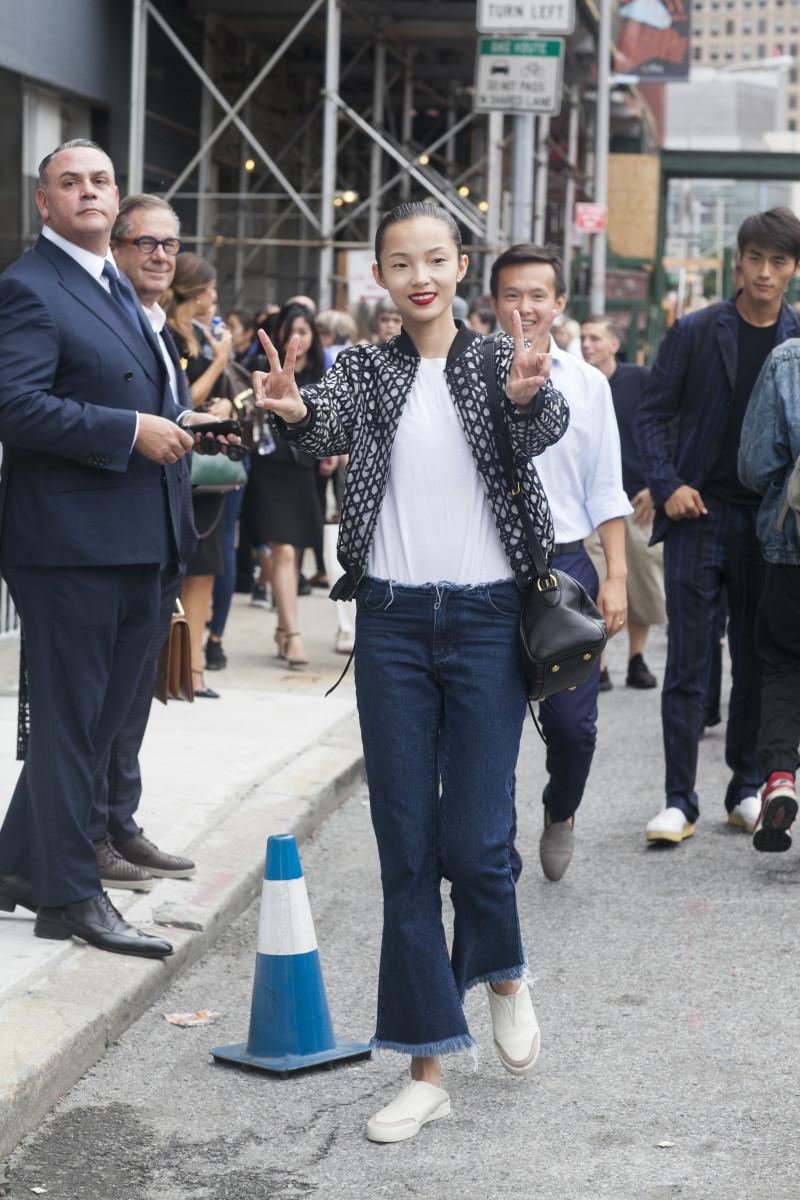 Xiao Wen Ju. Photo: Emily Malan/Fashionista