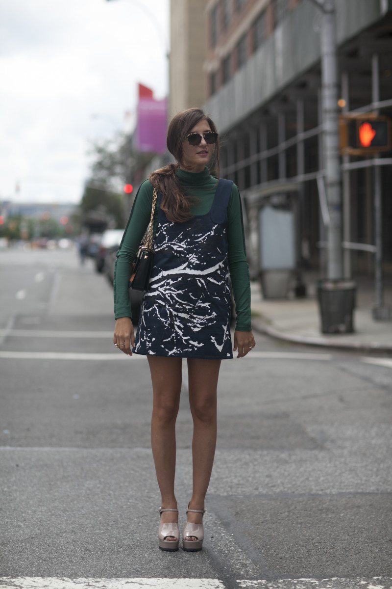 Blogger Eleanora Carisi. Photo: Emily Malan/Fashionista