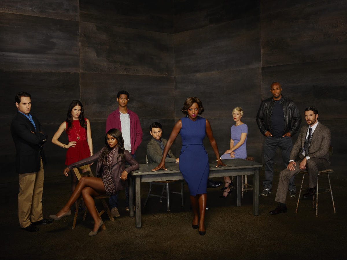 "Amped up fashion and drama on season two of ""How to Get Away With Murder."" Photo: Bob D'Amico/ABC"