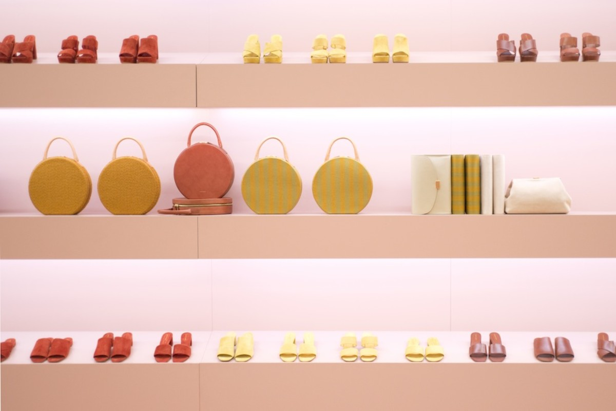 New shoes, bags and colors from Mansur Gavriel. Photo: Mansur Gavriel