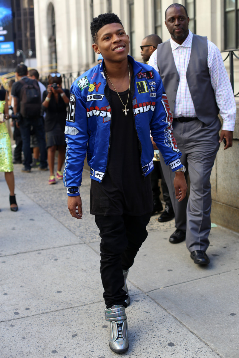 """Empire"" actor Bryshere Y. Gray. Photo: Angela Datre/Fashionista"