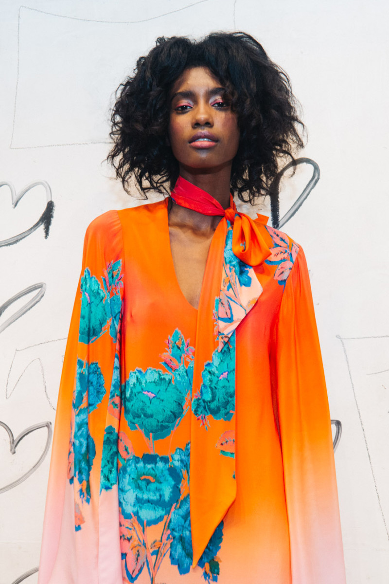 A model at Nanette Lepore's spring 2016 presentation party. Photo: Nanette Lepore