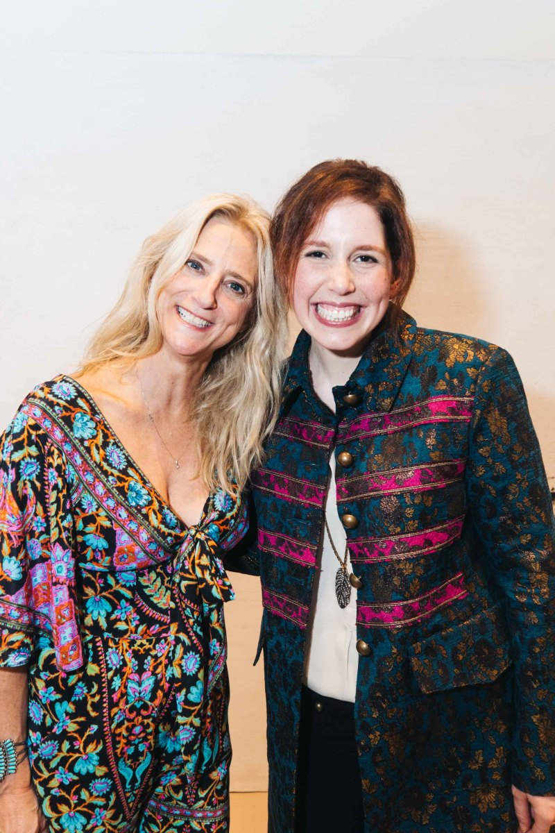 Designer Nanette Lepore and SNL's Vanessa Bayer at the spring 2016 presentation party. Photo: Nanette Lepore