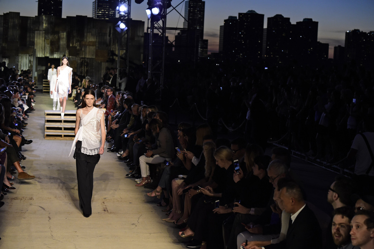 The Givenchy spring 2016 on Sept. 11. Photo: Frazer Harrison/Getty Images