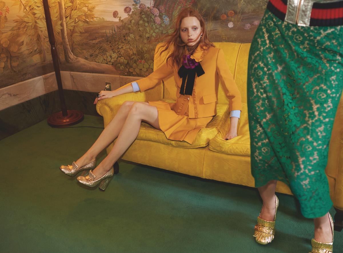 Gucci Resort 2016 Advertising Campaign Photo: Gucci