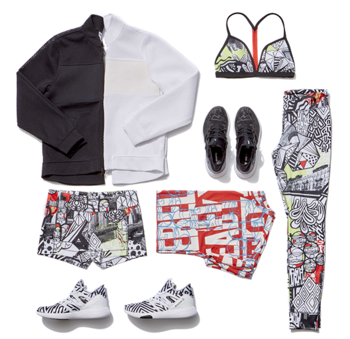 Reebok spring 2016 pieces that will debut at Bandier. Photo: Reebok