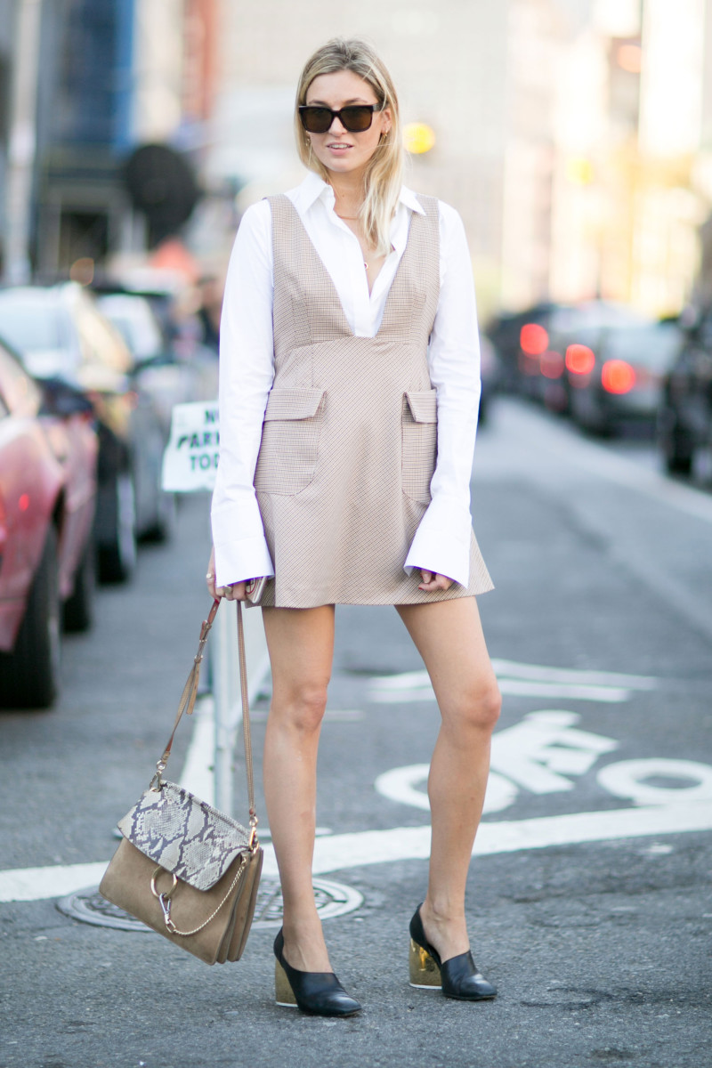 Blogger Camille Charriere. Photo: Imaxtree