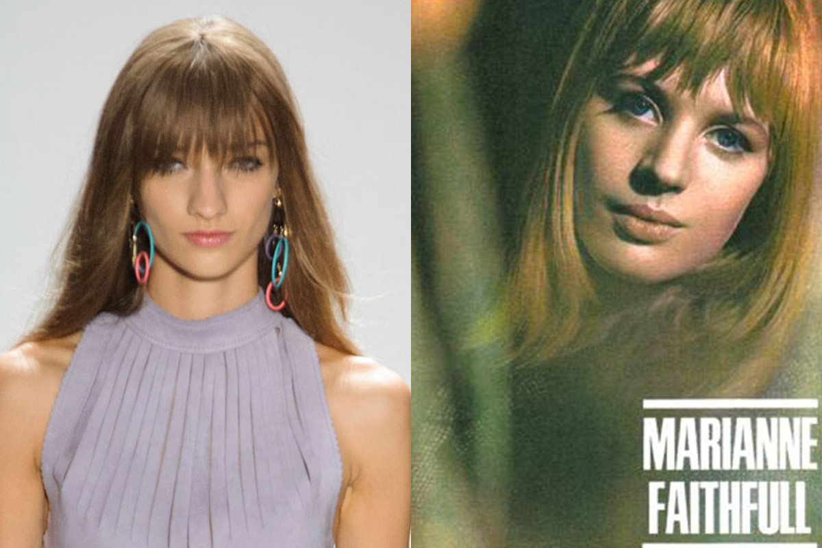 A look from Rebecca Minkoff and Marianne Faithfull. Photos: Imaxtree/album art