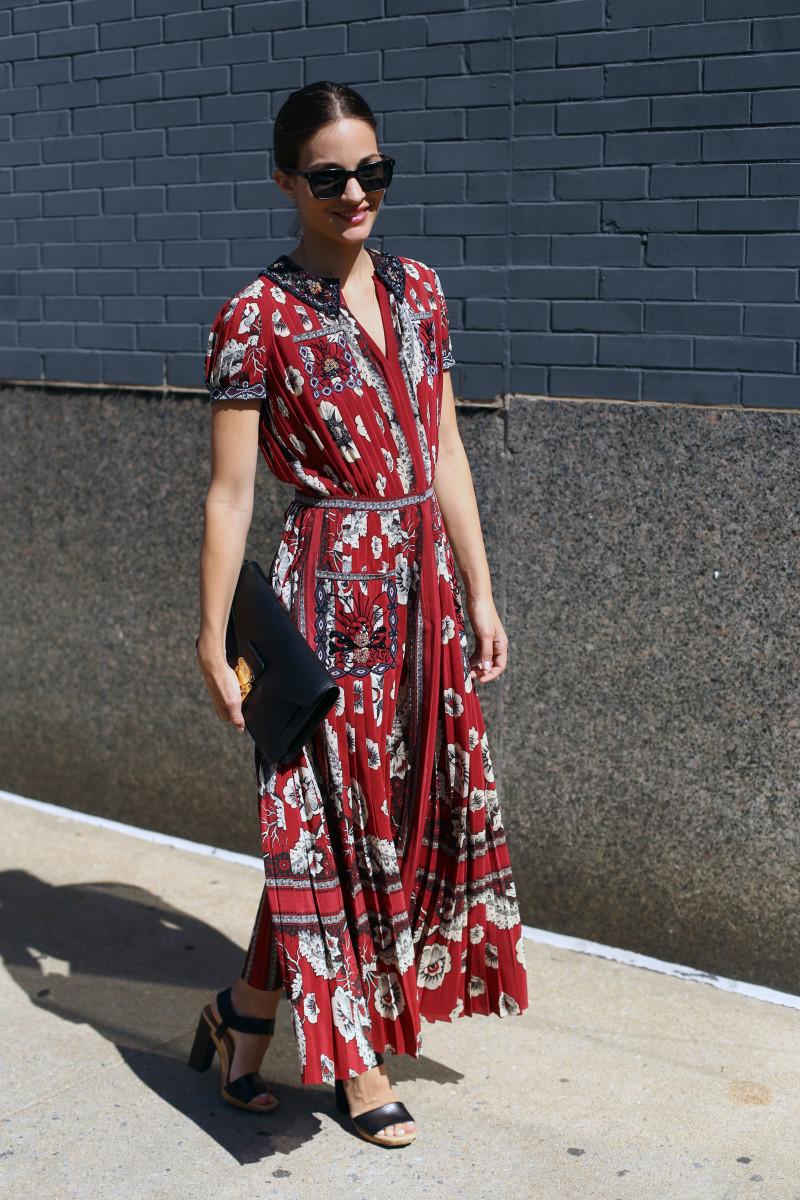 Elle's Maria Duenas Jacobs. Photo: Angela Datre/Fashionista