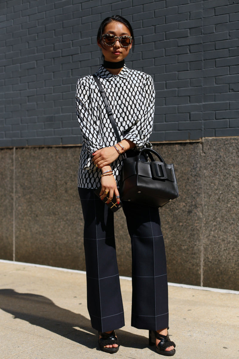 Blogger Margaret Zhang. Photo: Angela Datre/Fashionista
