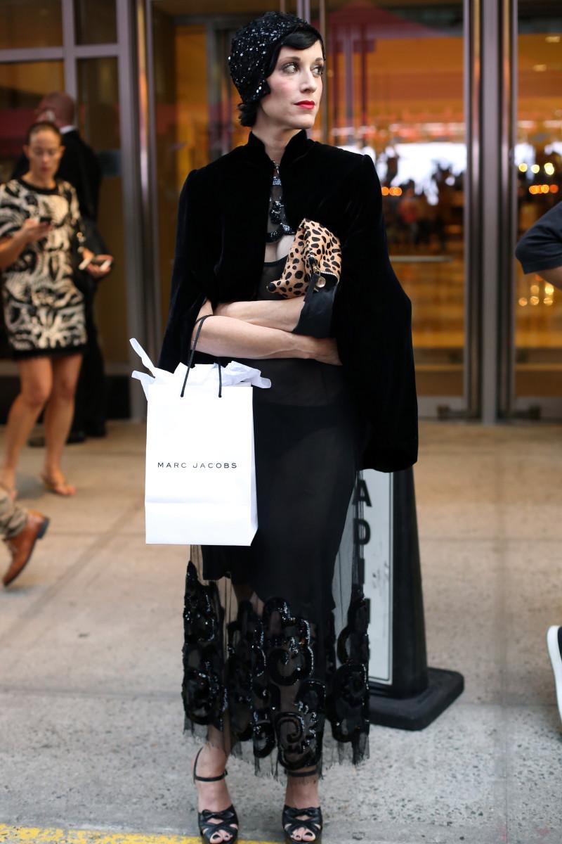 Sarah Sophie Flicker. Photo: Angela Datre/Fashionista