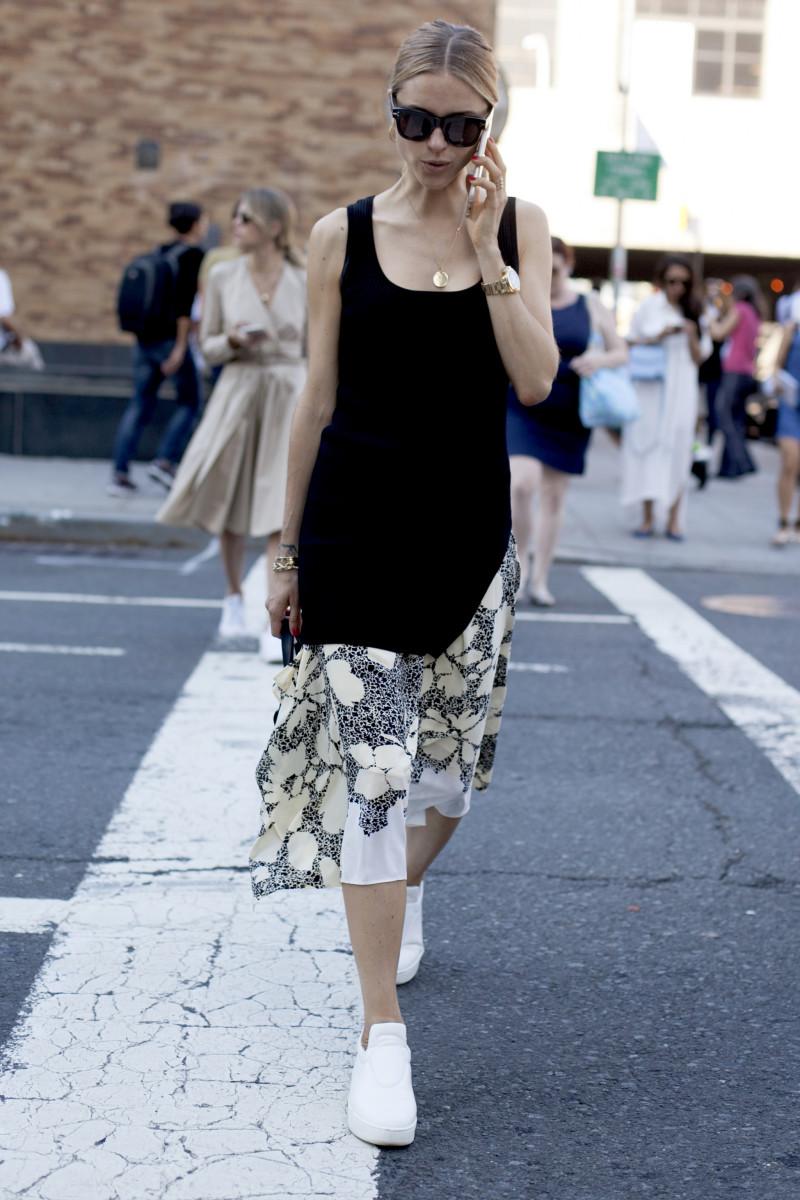 Blogger Pernille Tesibaek. Photo: Emily Malan/Fashionista