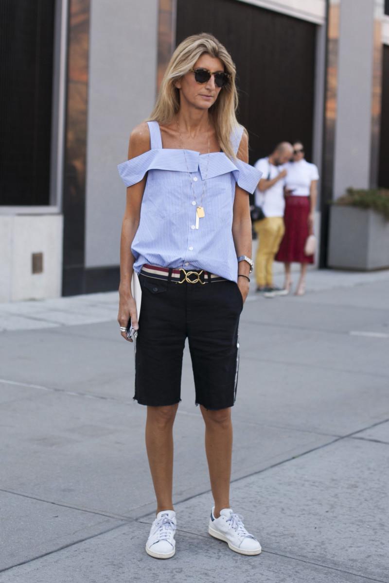 Net-a-Porter's Sarah Rutson. Photo: Emily Malan/Fashionista