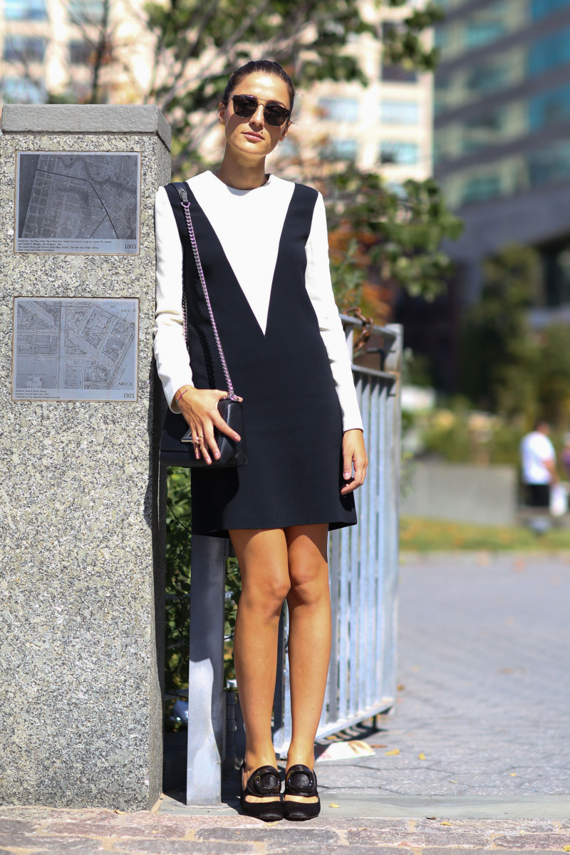 Blogger Eleanora Carisi. Photo: Imaxtree