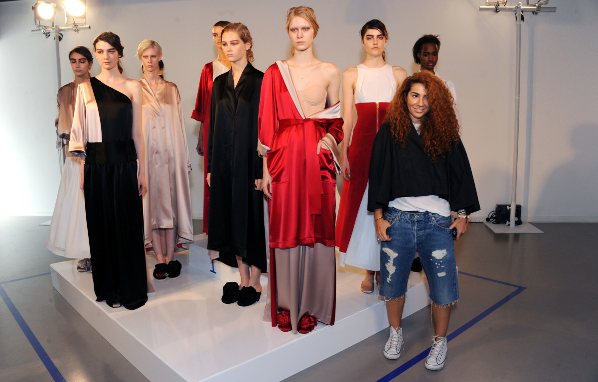 Ukrainian Designer Natasha Zinko Makes A Confident London Fashion Week Debut Fashionista