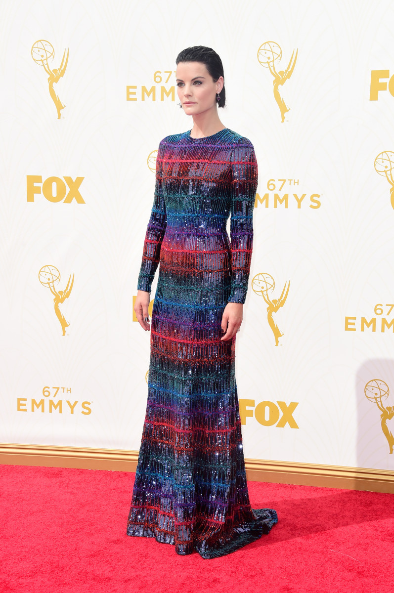 Jaimie Alexander in Armani Privé. Photo: Frazer Harrison/Getty Images