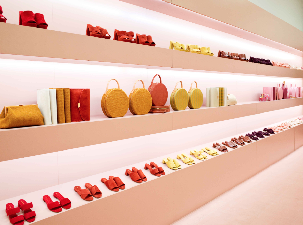 At Mansur Gavriel's NYFW presentation. Photo: Mansur Gavriel