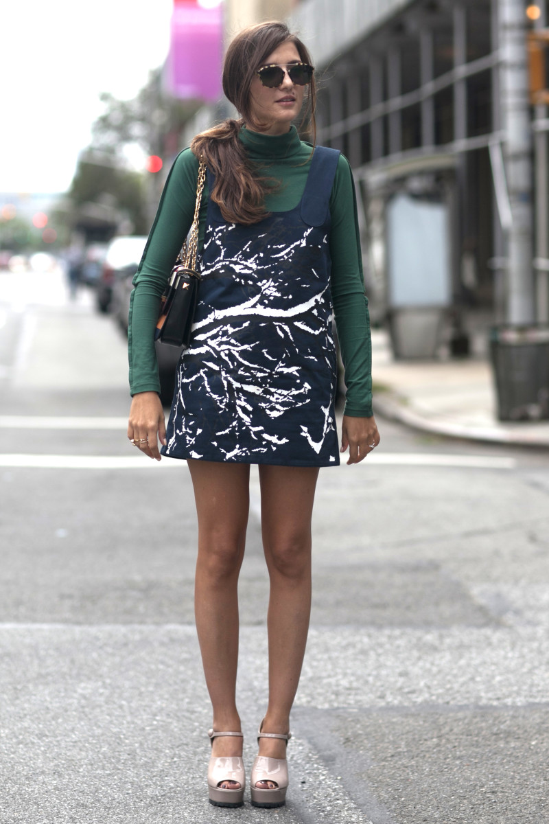 Blogger Eleonora Carisi. Photo: Emily Malan/Fashionista