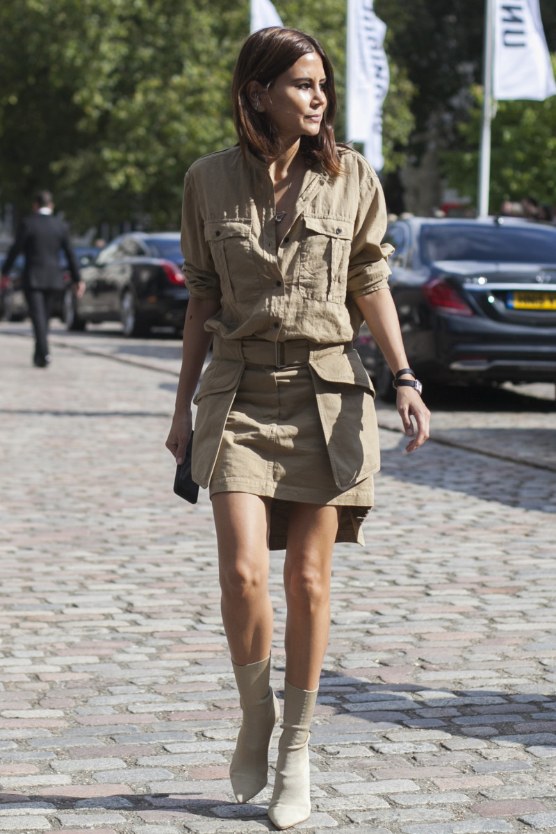 Vogue Australia's Christine Centenera. Photo: Emily Malan/Fashionista