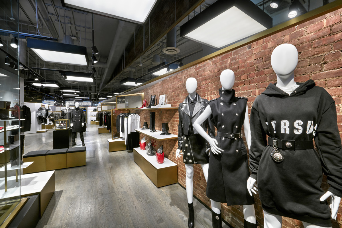 The women's section of Versus Versace in New York City. Photo: Versus Versace