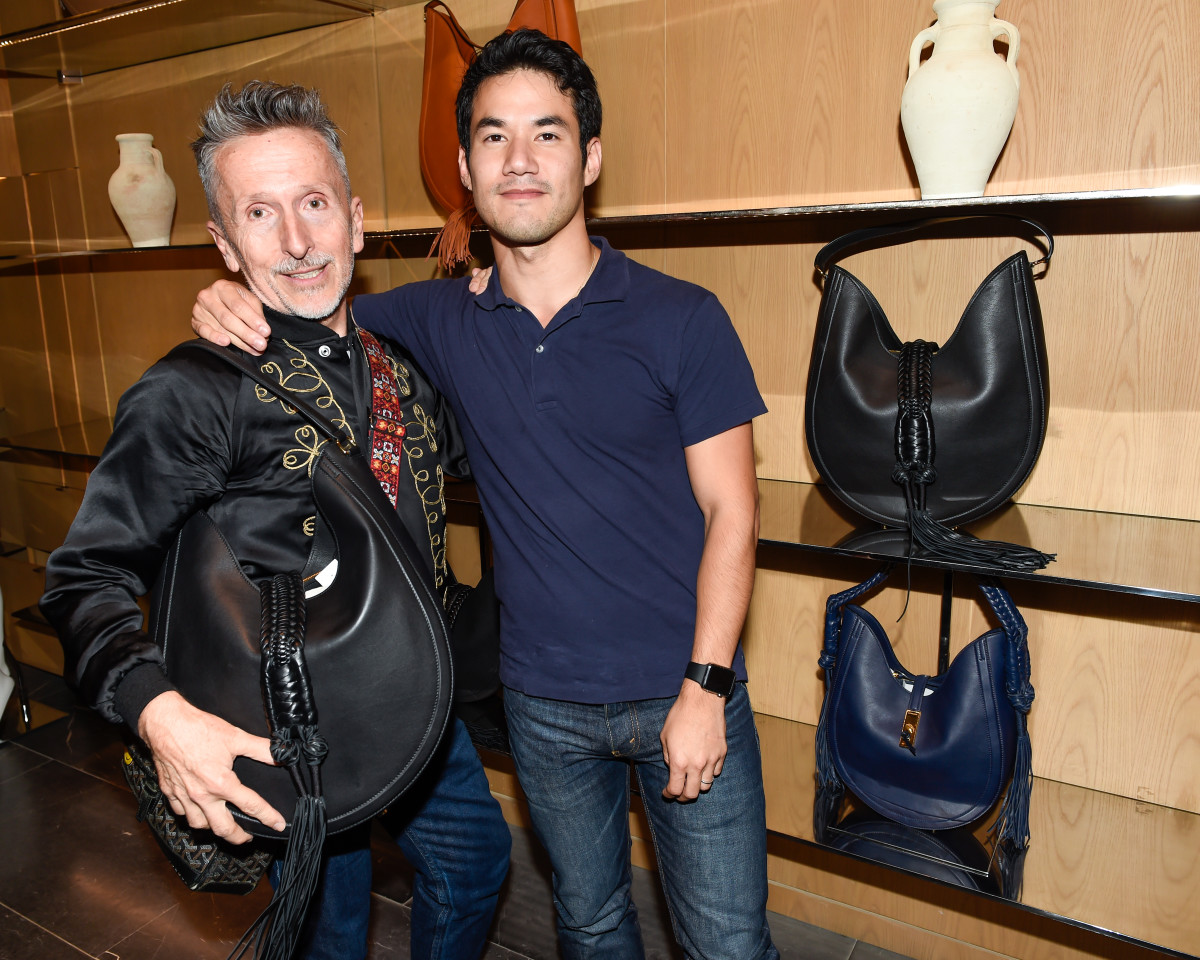 Simon Doonan and Joseph Altuzarra. Photo: BFA.com/Neil Rasmus