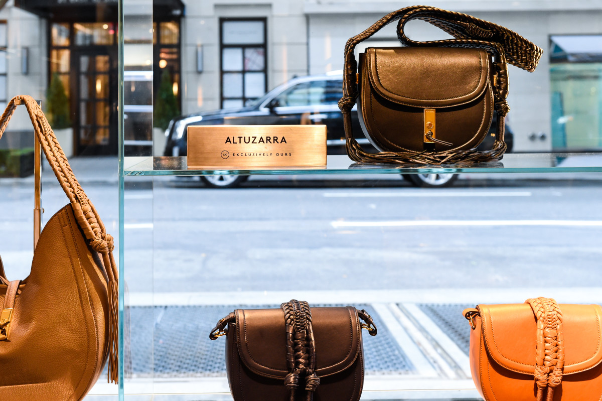 Altuzarra handbags at Barneys. Photo: BFA.com/Neil Rasmus