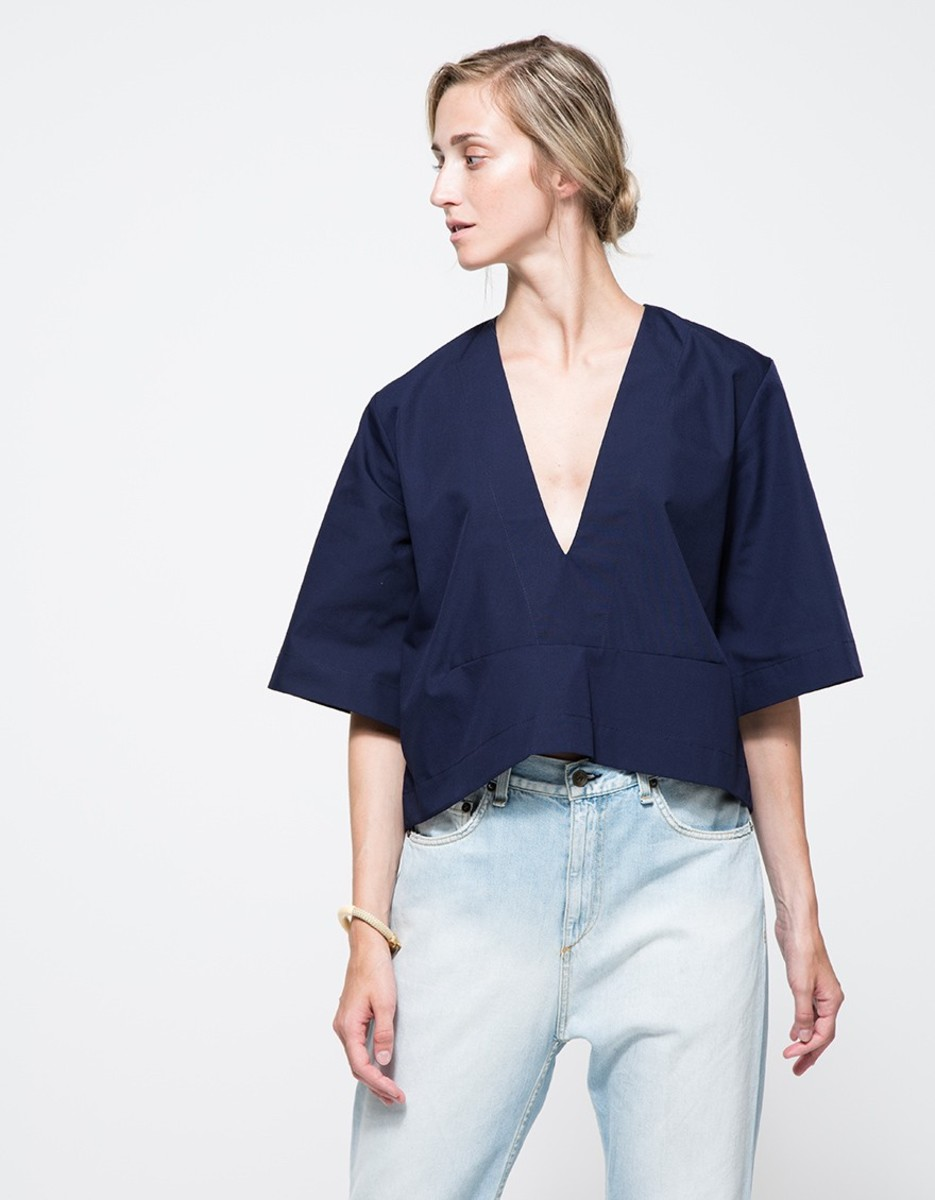 Toit Volant Poppy Top, $98, available at Need Supply.
