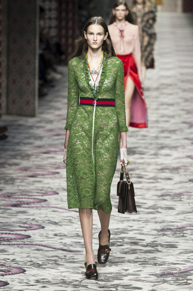 15b38f7785a Alessandro Michele Mixes the Familiar with the Unfamiliar for Gucci ...