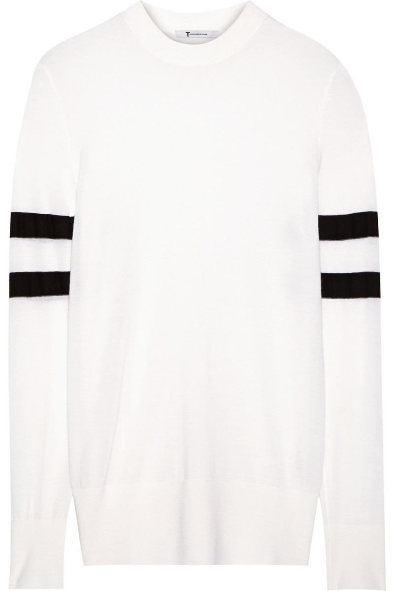 T by Alexander Wang merino wool sweater, $275, available at Nordstrom.