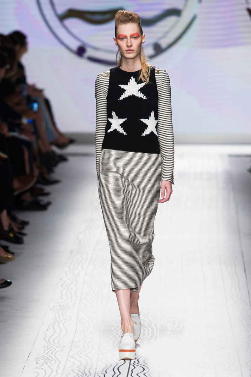 A look from Max Mara's spring 2016 collection. Photo: Imaxtree