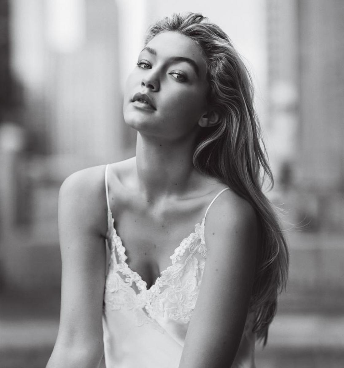 Vogue: Gigi Hadid, styled by Karen Kaiser